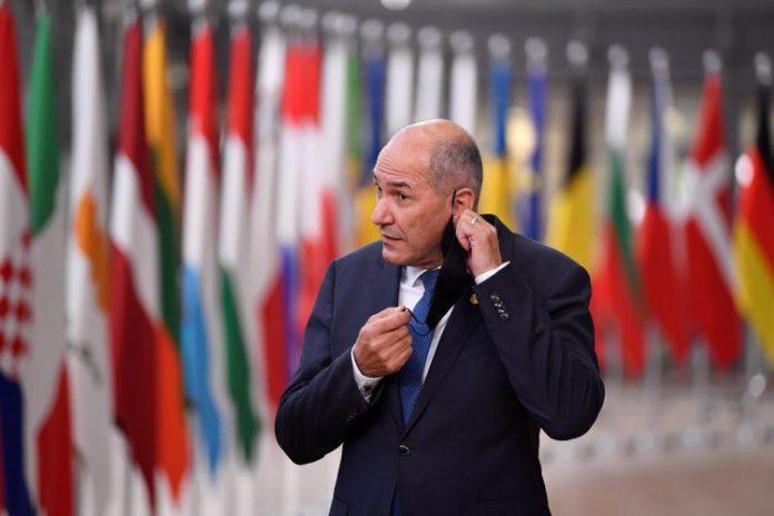 Foto: N1, Janez Janša u Briselu (Reuters)
